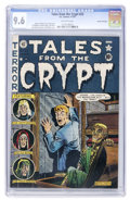 Golden Age (1938-1955):Horror, Tales From the Crypt #23 Gaines File pedigree 5/10 (EC, 1951) CGCNM+ 9.6 Off-white pages....