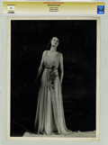 Movie/TV Memorabilia:Photos, Rosalind Russell Photo Portrait by George Hurrell....