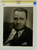Movie/TV Memorabilia:Photos, Wallace Beery Photo Portrait by George Hurrell....