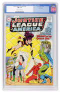 Silver Age (1956-1969):Superhero, Justice League of America #23 Pacific Coast pedigree (DC, 1963) CGCNM+ 9.6 Off-white to white pages....