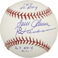 Autographs:Baseballs, Tom Seaver and Rod Carew Dual-Signed Baseball. ...