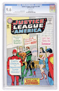 Silver Age (1956-1969):Superhero, Justice League of America #28 (DC, 1964) CGC NM+ 9.6 Whitepages....