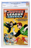 Silver Age (1956-1969):Superhero, Justice League of America #30 (DC, 1964) CGC NM+ 9.6 Off-whitepages....