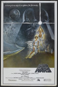 "Movie Posters:Science Fiction, Star Wars (20th Century Fox, 1977). Poster (40"" X 60"") Style A.Science Fiction.. ..."