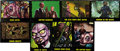 "Non-Sport Cards:General, 1964 Bubbles (Topps) ""The Outer Limits"" Complete Set (50). ..."