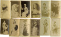 Non-Sport Cards:General, 19th Century N245 Actors and Actresses Group of (12)....