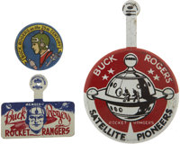 Buck Rogers Badge Group (1935-57).... (Total: 3 Items)