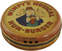 Wimpy's Musical Hum-Burger Toy (King Features, 1936)