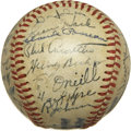 Autographs:Baseballs, 1946 Chicago Cubs Team Signed Baseball. ...