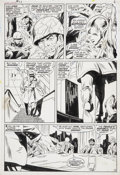 Original Comic Art:Panel Pages, John Buscema and Dan Adkins Silver Surfer #13 page 5Original Art (Marvel, 1970)....