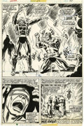 Original Comic Art:Panel Pages, Don Heck and Tony DeZuniga Ghost Rider #25 page 31 Original Art (Marvel, 1973)....