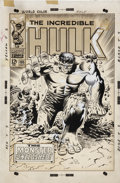 Original Comic Art:Covers, Marie Severin and Frank Giacoia The Incredible Hulk #105Cover Original Art (Marvel, 1968)....