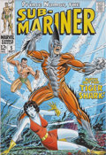 Original Comic Art:Covers, Giorgio Comolo Sub-Mariner #5 Cover Re-Creation Original Art(2007)....