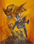 Original Comic Art:Covers, Simon Bisley The Demon #12 Cover Original Art (DC, 1991)....