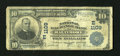 National Bank Notes:Maryland, Baltimore, MD - $10 1902 Plain Back Fr. 624 The National ExchangeBank Ch. # (E)1109. ...