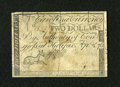 Colonial Notes:North Carolina, North Carolina April 2, 1776 $2 Fine....
