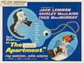 "Movie Posters:Comedy, The Apartment (United Artists, 1960). British Quad (30"" X 40"")....."