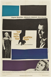 """The Man With the Golden Arm (United Artists, 1955). One Sheet (27"""" X 41"""")"""
