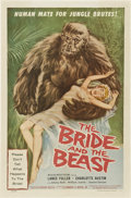 """Movie Posters:Horror, The Bride and the Beast (Allied Artists, 1958). One Sheet (27"""" X 41"""").. ..."""