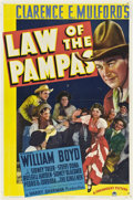 "Movie Posters:Western, Law of the Pampas (Paramount, 1939). One Sheet (27"" X 41"").. ..."