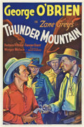"""Movie Posters:Western, Thunder Mountain (Fox, 1935). One Sheet (27"""" X 41"""").. ..."""
