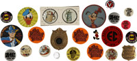 Pinback Badge Miscellaneous Group (1930s-80s).... (Total: 24 Items)