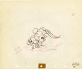 Animation Art:Production Drawing, The Brave Little Tailor Animation Production DrawingOriginal Art Group of 2 (Disney, 1937).... (Total: 2 Items)