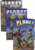 Pulps:Science Fiction, Planet Stories Group (Fiction House, 1941-49) Condition: AverageFN+.... (Total: 15 Items)