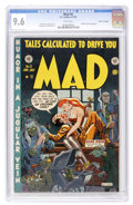 Golden Age (1938-1955):Humor, Mad #5 Gaines File pedigree 8/12 (EC, 1953) CGC NM+ 9.6 White pages....