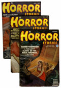 Pulps:Horror, Horror Stories Group (Popular, 1935-36) Condition: Average FN....(Total: 3 Items)