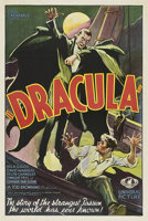 "Featured item image of Dracula (Universal, 1931). One Sheet (27"" X 41"") Style F.  ..."