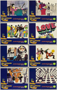 """Yellow Submarine (United Artists, 1968). Lobby Card Set of 8 (11"""" X 14""""). ... (Total: 8 Items)"""