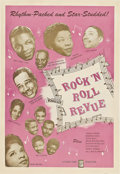 "Movie Posters:Rock and Roll, Rock 'n' Roll Revue (Studio, 1955). One Sheet (27"" X 41"").. ..."