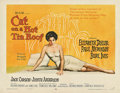 "Movie Posters:Drama, Cat on a Hot Tin Roof (MGM, 1958). Half Sheet (22"" X 28"").. ..."