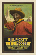 "Movie Posters:Western, The Bull-Dogger (Norman Film Manufacturing, 1921). One Sheet (27"" X41"").. ..."