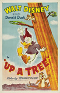 "Movie Posters:Animated, Up a Tree (RKO, 1955). One Sheet (27"" X 41"").. ..."