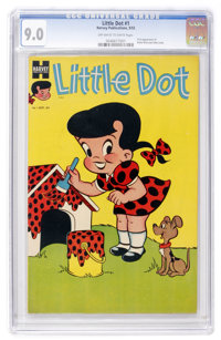 Little Dot #1 (Harvey, 1953) CGC VF/NM 9.0 Off-white to white pages