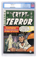 Golden Age (1938-1955):Horror, Crypt of Terror #19 Gaines File pedigree 1/11 (EC, 1950) CGC NM+9.6 Off-white to white pages....