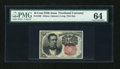 Fractional Currency:Fifth Issue, Fr. 1265 10c Fifth Issue PMG Choice Uncirculated 64....