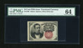 Fractional Currency:Fifth Issue, Fr. 1266 10c Fifth Issue PMG Choice Uncirculated 64....