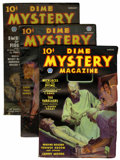 Pulps:Horror, Dime Mystery Magazine Group (Popular, 1936-40) Condition: AverageVG/FN.... (Total: 5 Items)