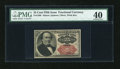 Fractional Currency:Fifth Issue, Fr. 1309 25c Fifth Issue PMG Extremely Fine 40....