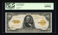 Large Size:Gold Certificates, Fr. 1200 $50 1922 Gold Certificate PCGS Very Choice New 64PPQ....