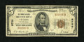 National Bank Notes:Pennsylvania, Ulysses, PA - $5 1929 Ty. 1 The Grange NB of Potter County Ch. #8739. ...