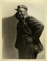 "Wallace Beery in ""The Big House"" by George Hurrell (MGM, 1930). Still (10"" X 13"")"