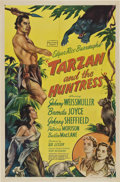 "Movie Posters:Adventure, Tarzan and the Huntress (RKO, 1947). One Sheet (27"" X 41"").. ..."