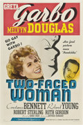 "Movie Posters:Comedy, Two-Faced Woman (MGM, 1941). One Sheet (27"" X 41"") Style C.. ..."