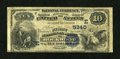 National Bank Notes:Pennsylvania, Rockwood, PA - $10 1882 Value Back Fr. 577 The First NB Ch. #(E)5340. ...