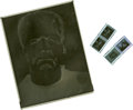 Movie/TV Memorabilia:Photos, Four Negatives of Karloff in Bride of Frankenstein. ...