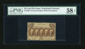 Fractional Currency:First Issue, Fr. 1280 25c First Issue PMG Choice About Unc 58 EPQ....